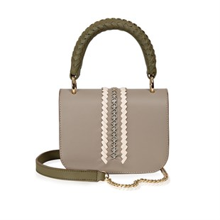 Rossea - Brandy Tote Bag- Coton Sand Leather