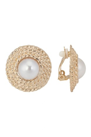 Glowing Diaries - Coco Round Earring