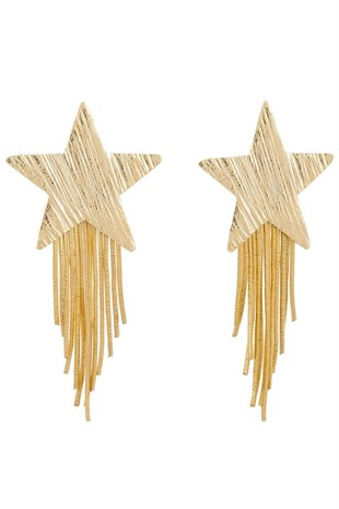 Glowing Diaries - Gold Star Earring