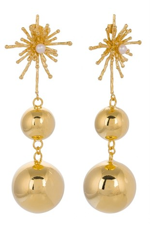 Glowing Diaries - Pin Ball Earring